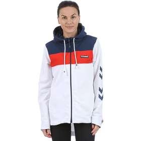 6fdf28fefbb Hummel Mulan Zip Hood - Hvid - female - Tøj - Trøjer - Zip-Trøjer