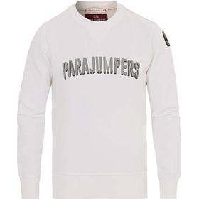 Parajumpers Caleb Crew Neck Sweatshirt White