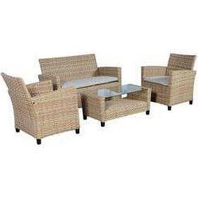 Loungesæt natur Havemøbler - Sammenlign priser hos PriceRunner