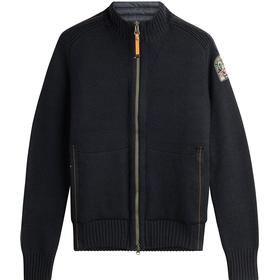 Parajumpers Merino Wool Cardigan with Zipped Front