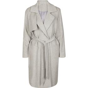 2nd Day Livia Wool Coat - Light Grey