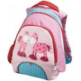 HABA - Børnerygsæk - Pink heste