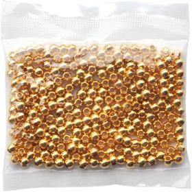 Playbox Metallpärlor 250 st guld