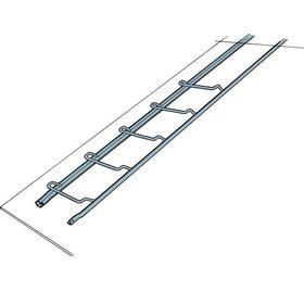 Skeppshultstegen Takstege Standard i stål, Längd(mm): 1500 ; Bredd(mm): 380 ; Vikt(kg): 5,0