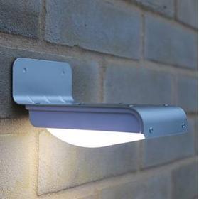 16 LED Solcelle Udebelysning med bevægelsesdetektor