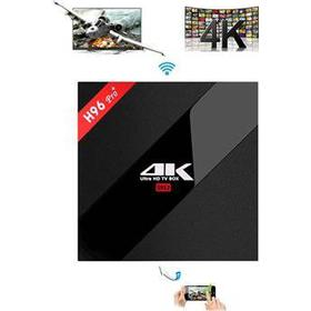 Kraftfuld H96 Pro+ 4K Ultra HD Android TV box - 32GB intern hukommelse
