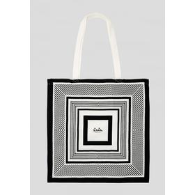 Lala Berlin Kufiya Cotton Bag - Black