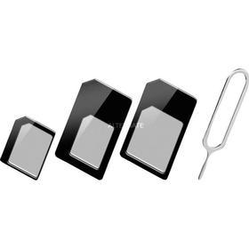 goobay 43929 SIM card adapter SIM / hukommelseskort adapter, SIM-kort
