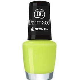Dermacol Neon Neon Glow Nail Polish Shade 21 Rio 5 ml
