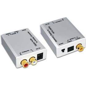 Deltaco Adapter RCA, TOSLINK Hona RCA Hona