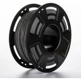 PLA filament til 3D printer, 1 kg, 1,75 mm. Grå