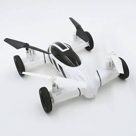 Vecopter F809 RC fjernstyret dronebil, sort eller hvid Sort