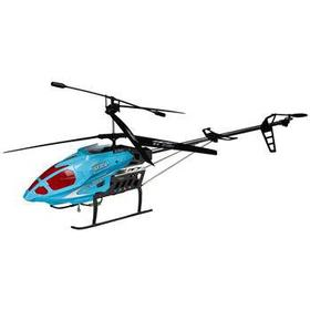 Fjernstyret helikopter - 90 cm lang - Blå