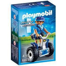 Politibetjent med Segway - PL6877 - Playmobil City Action