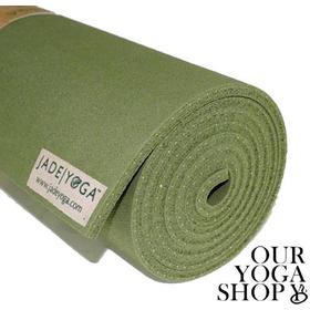Jade Fusion Yoga Mat Olive Green- yogamatta