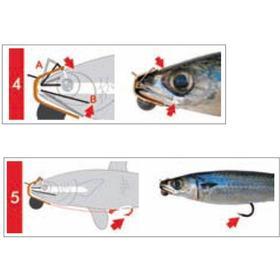 Djupriggare Predapro Bait Fish Rig