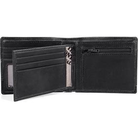 The Monte plånbok dollarmodell svart