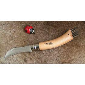 Svampekniv Opinel No. 8 foldekniv i bøgetræ