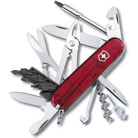 Lommekniv CyberTool 34 rød transparent, 91 mm