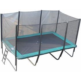 Bygxtra Firkantet trampolin 5x3 meter med sikkerhedsnet