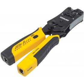 Intellinet 780124 Kombinationsværktøj Sort, Gul kabelklipper
