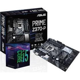 ASUS Uppgraderingspaket med Intel Coffee Lake Intel Z370 Core i5 I5-8600K ATX