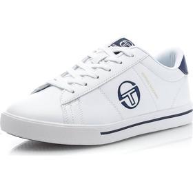 Sergio Tacchini Now Low LTX - Hvid/Blå - male - Sko - Sneakers - Lave Sneakers