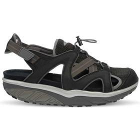 SABRA BLACK, svart MBT- sandaler Herr