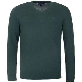Barbour M's Pima Cotton V-neck Racing Green