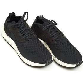7399913ec08 Filling Pieces Mens Knit Speed Arch Runner Trainer, Branded Black Sneakers