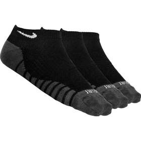 35954dab Nike Dry Lightweight No-Show 3-pack Socks Unisex - Black/Anthracite/