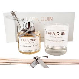 Lara Quin Quartz Orange & Nutmeg Diffuser 100ml