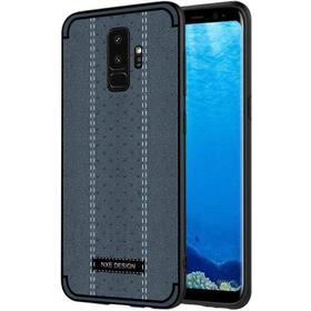 Samsung Galaxy S9+ (S9 Plus) NXE Cover PU-Leather Stiching Mørkeblå