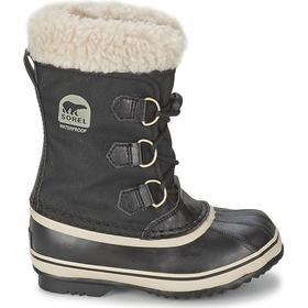 Sorel Big Kids' Yoot Pac Nylon Boot Black (1638021)