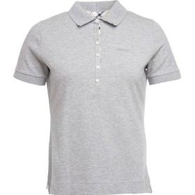 Barbour W's Prudhoe Polo Lt Grey Marl