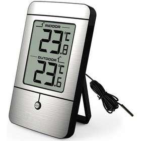 Digital termometer inne ute Väderstationer - Jämför priser på ... 9416eab65e614