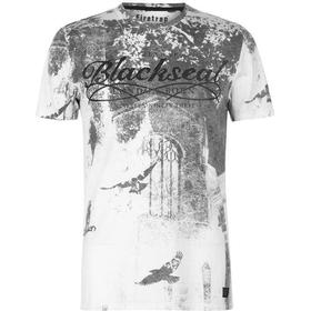 Firetrap Blackseal Birds T-shirt White (59093501)