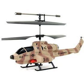 Helikopter m. missiler 2 farver