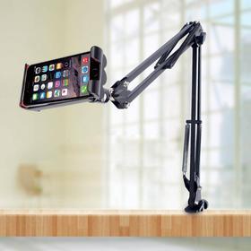 """MOBILCOVERS.DK Zero Gravity Smartphone & Tablet Mount 5-10"""" Sort"""