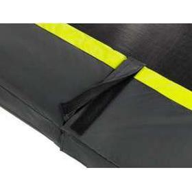 Trampolin til nedgravning - silhouette firkantet nedgravningstrampolin - sort (exit) 214x305 cm (7x10ft) u/ sikkerhedsnet