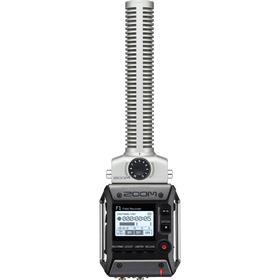 Zoom F1-SP ljudinspelare med shotgunmikrofon