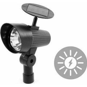 Solcellelampe - Spot light med 3 LED'er