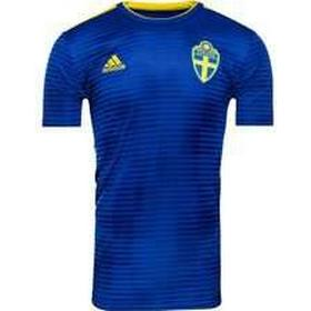 Adidas Sweden World Cup Away Jersey 18/19 Youth