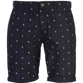SoulCal Patterned Chino Shorts Navy (47818022)