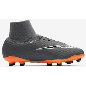 Nike Hypervenom Phantom III Academy Dynamic Fit FG Dark Grey/White/Total Orange (AH7287-081)