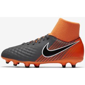 Nike Magista Obra II Academy Dynamic Fit FG Dark Grey/Total Orange/White/Black (AH7313-080)