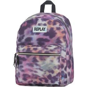 Replay rygsæk Leopard lyserød REPL277047