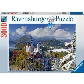 Ravensburger Neuschwanstein Castle in Winter 3000 Pieces