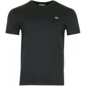Lacoste Crew Neck Pima Cotton Jersey T-shirt Black (TH6709-00)