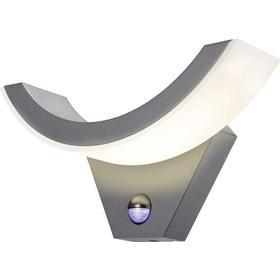 Esotec LED-udendørs vægbelysning med bevægelsessensor Esotec SwingLine 9 W 550 lm Varm hvid Antracit